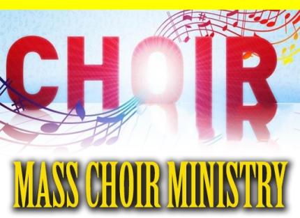 mass choir ministry